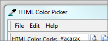 HTML Color Picker